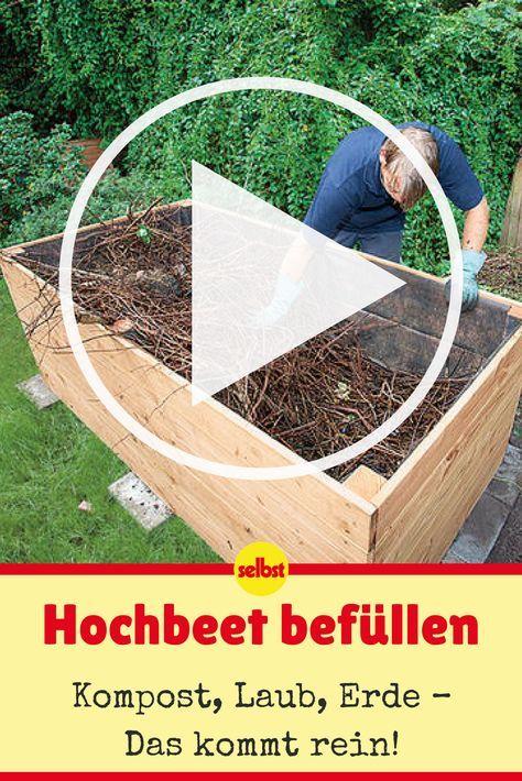 Hochbeet Anlegen زراعة Garden Vegetable Garden Garden Plants