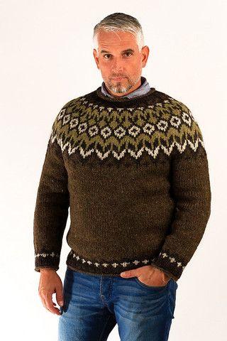Fisherman Wool Pullover - Icelandic Sweaters - Wool Sweaters
