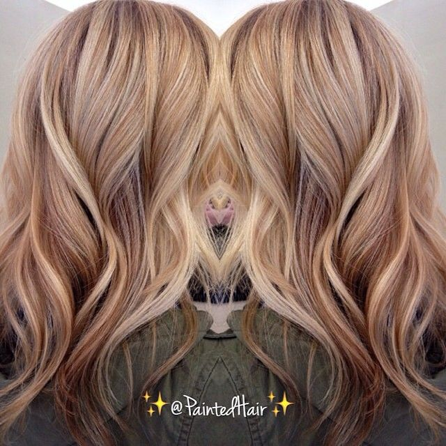 Dark winter blonde. Color by @paintedhair #hairenvy #haircolor #blonde…