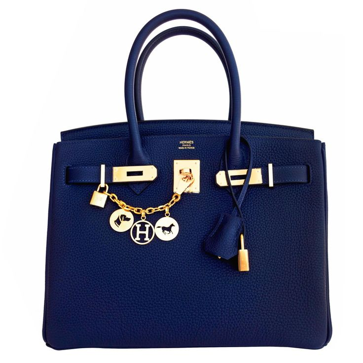 Hermes Navy Blue Nuit Togo 30cm Birkin Gold Hardware Bleu Nuit Jewel-Toned Navy | 1stdibs.com   For More  handbags 2017 trends   Click Here http://moneybuds.com/Handbags/