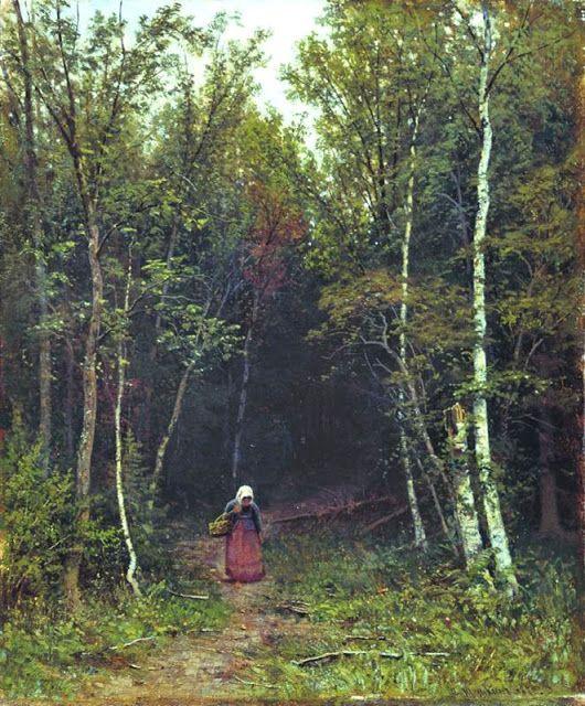 Τοπίο με μία γυναίκα  (1872)