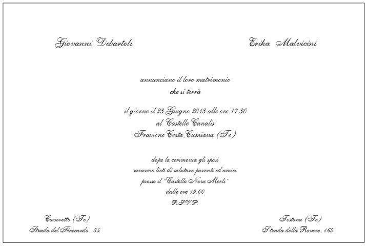 Partecipazioni E Inviti Classici By Simmi Floral Design Partecipazione Matrimonio Immagini
