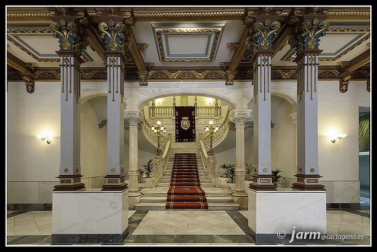 Vestíbulo Palacio Consistorial. Cartagena