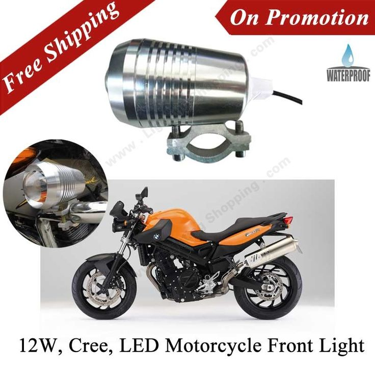 New Products on-line! Here comes our Free Shipping LED Motorcycle Front Lights, FEATURE: 12W, Cree U2, 3 Mode Headlights from Motorcycle LED Lights Series, Enter into Best LED Lighting shopping Online Store. http://www.lightingshopping.com/led-motorcycle-front-lights-headlights-12w-cree-u2-3-mode.html