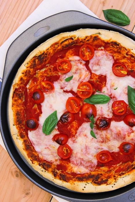 giroVegando in cucina: Pizza estiva  Vegan italian pizza margherita
