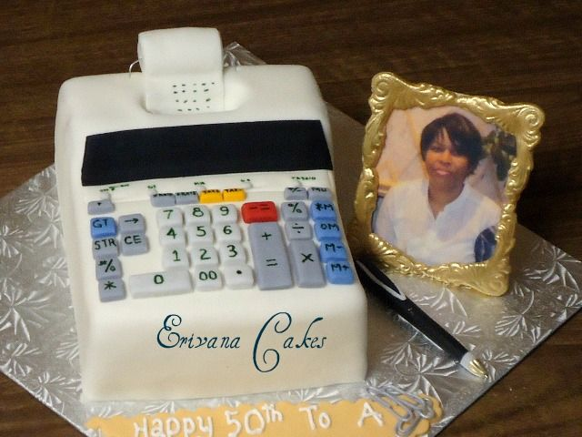 Accountant Cake Sp 300 Cake Cake Decorating Creative