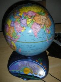 The best geography teaching aid: an interactive globe - 501 Places
