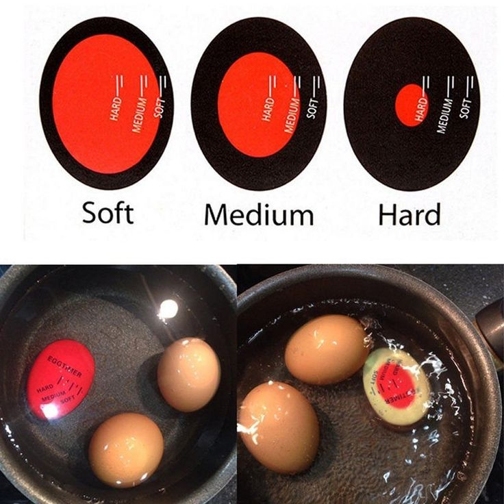 This egg timer sits right in the water with your eggs, allowing you to see exactly what stage the yolk is in. If you want the perfect hard boiled eggs, youve got to try out this handy little device ne
