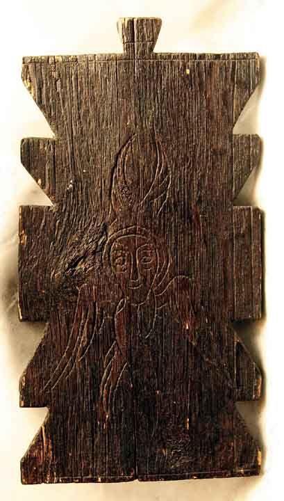 Icoană; Serafim - Muzeul Naţional al Ţăranului Român - BUCUREŞTI (Patrimoniul…