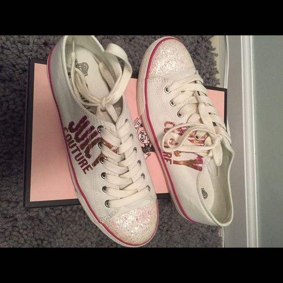 Juicy Couture Shoes Worn once! Juicy Couture Shoes Sneakers