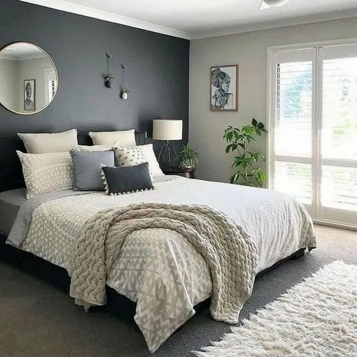 99 Comfy Gorgeous Master Bedroom Design Ideas 29 In 2020 Cozy Master Bedroom Bedroom Interior Apartment Bedroom Decor