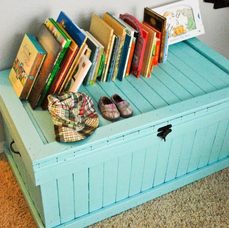 Home Decor Ideas: Toy chest