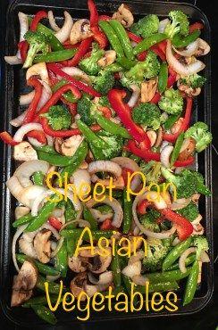 Asian Sheet Pan Vegetables | Inside of the Cookie Jar