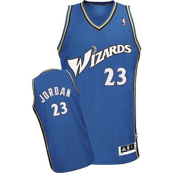 Michael Jordan Wizards #23 Slate Blue Jersey