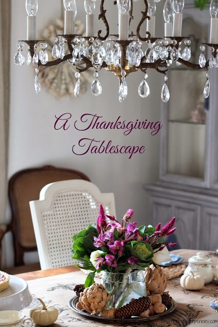 Thankful & A Thanksgiving Tablescape - Finding Silver Pennies