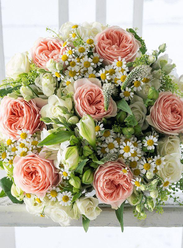 Peony roses and camomiles  #flowers #bouquet #roses #camomiles #kvetiny #vazanikytic #praha #dovozkvetin #coolflowers_cz