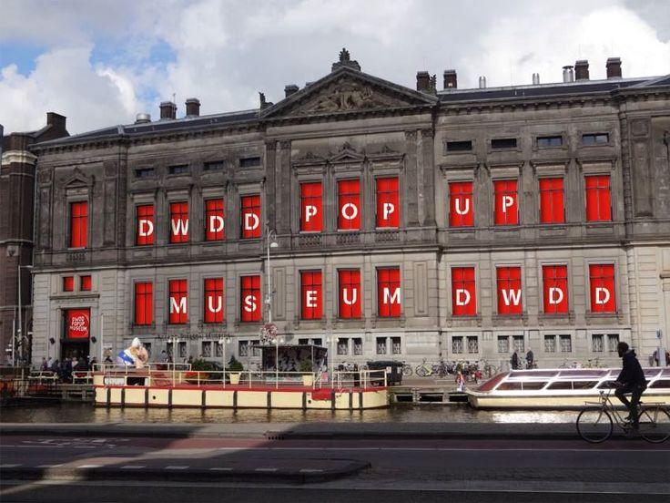 POP-UP NIEUWS: De DWDD pop-up museum wordt in 2016 opnieuw geopend in het Allard Pierson museum in Amsterdam.
