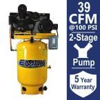 Industrial Plus Series 120 Gal. 10 HP 3-Phase 2-Stage Electric Air Compressor