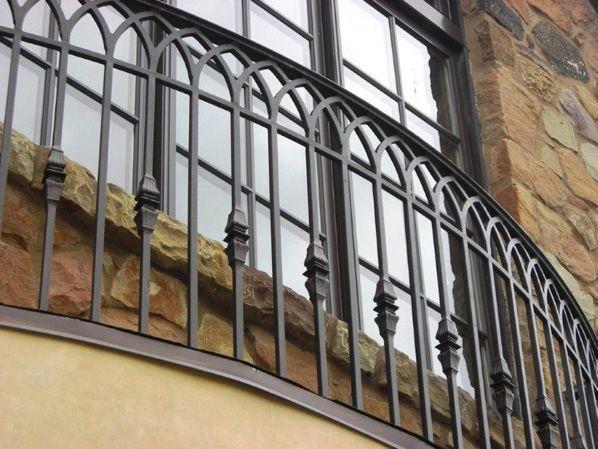 Luxury Wrought Iron Balcony Railing