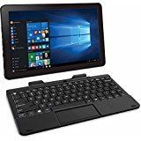 """RCA Cambio 10.1"""" 2-in-1 Tablet 32GB Intel Quad Core Windows 10 Black Touchscreen Laptop Computer with Bluetooth and WIFI. RCA Cambio 10"""" Is preloaded with WINDOWS 10. 2GB DDR OF SYSTEM MEMORY. Intel Z3753 processor. 10.1 touchsreen, 1280 x 800 resolution. Build in 32GB memory."""
