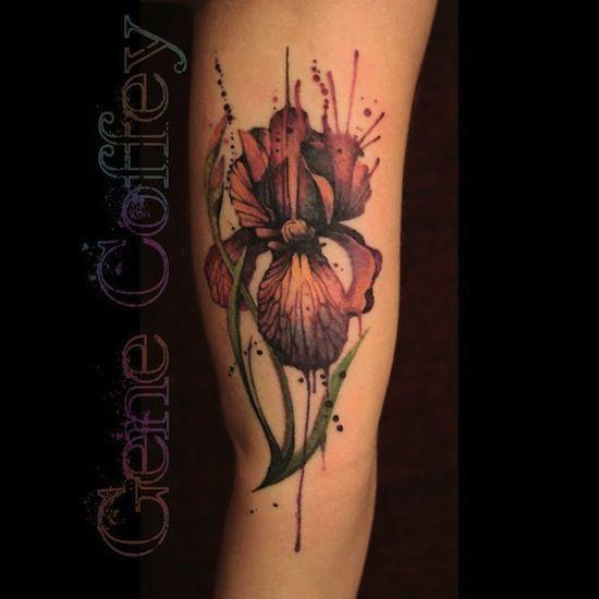 iris-by-Gene-Coffey-tattoo-artist-Brooklyn-Ny-USA.jpg (550×550)