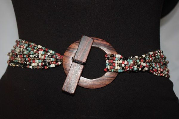 Sea Beads Organic Belts Organic Accessories | Fashion Women's Handmade Jewelry and Contemporary Accessories