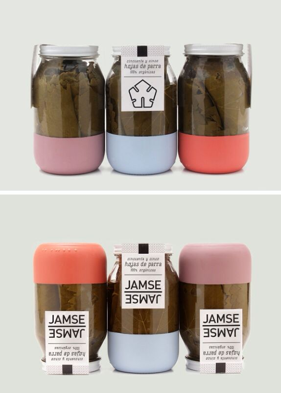 Paint a stripe of chalkboard paint on all my mason jars. This would look so great! And be super easy to find my ingredients. Yes!