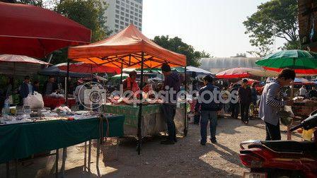 Friday Market at Chiangmai Thailand – Stock Editorial Photo © photostocknatonny #58397217