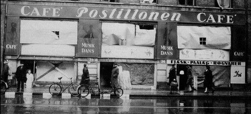 Café Postillonen, Istedgade 38, 1943-1945