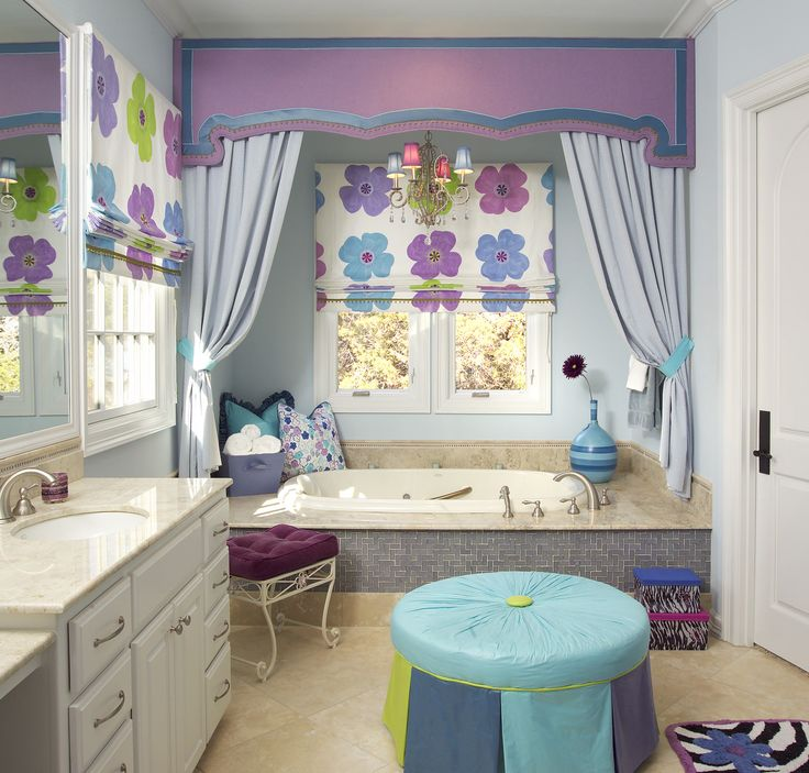 blue green amp purple bathroom design for this 13339