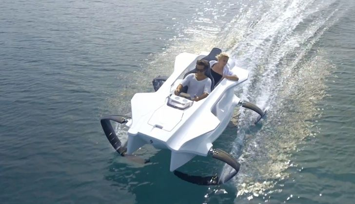 First Electric Hydrofoil Sports Boat Coming in 2015 for €15K [Video]
