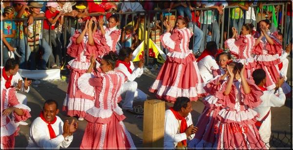 Cumbia en el Desfile de la Gran Parada