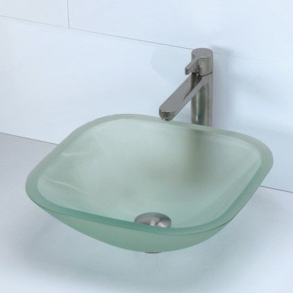 The Classic Square Vessel Series Will Bring Refinement To Any Décor. The  Glass Vessel Will Complement Any Bathroom Design. Square Glass Vessel From  Decolav