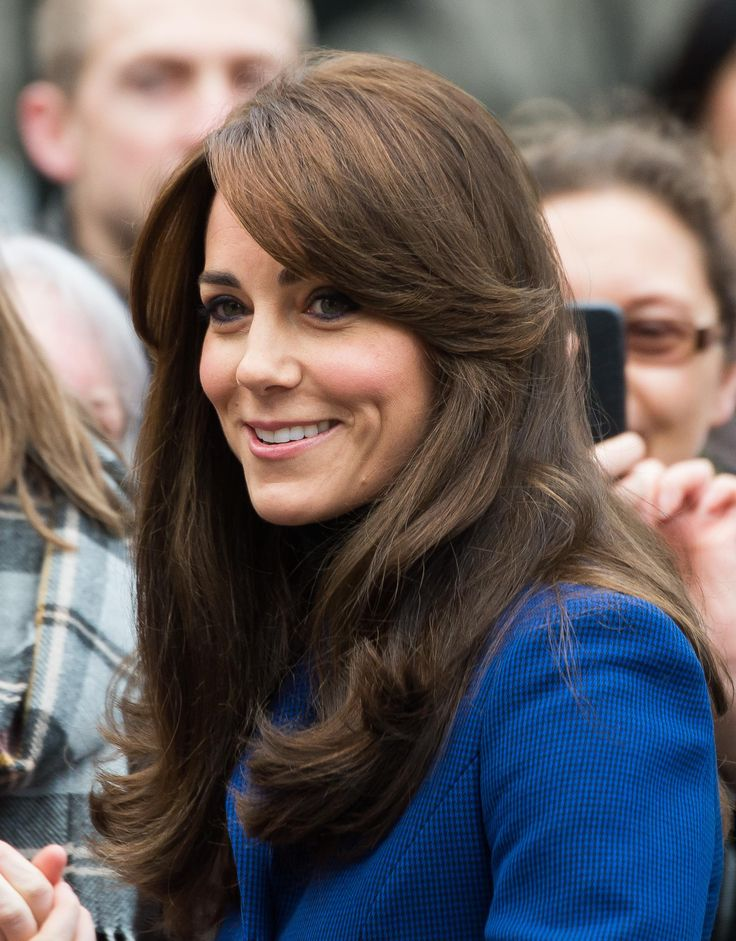 The 30 Most Iconic Bangs of All Time - It was the haircut heard around the world when Kate Middleton cut long bangs into her gorgeous, bouncy hair.