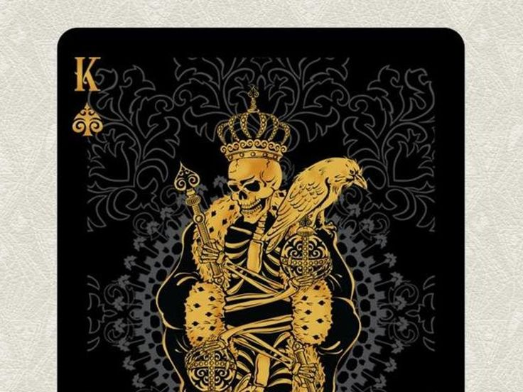 ARCANUM is an original set of American Poker playing cards designed by TDS and printed in the U.S.