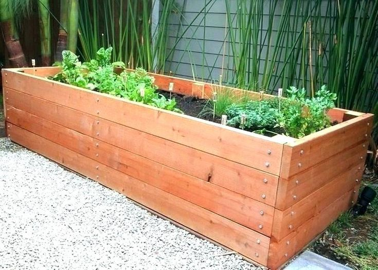 wood vegetable planters – Google Search