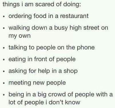 Some of these things are more stressful than others. But they're all pretty scary.