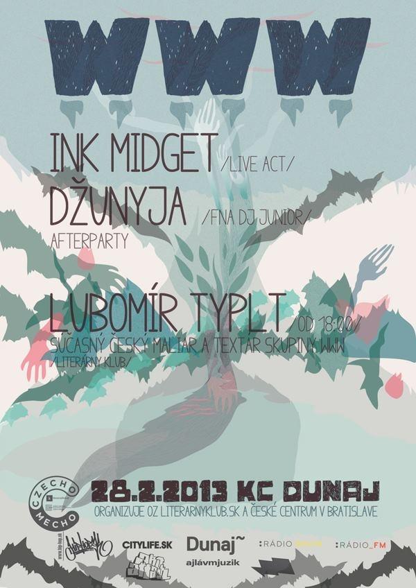 Czecho Mecho: WWW + Ink Midget 28.2.2013, KC Dunaj, Bratislava
