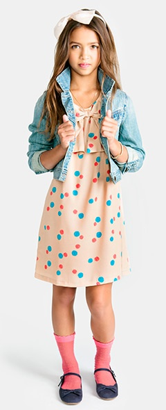 Junior Girls clothing, kids clothes, kids clothing   Forever 21 #polkadots #bows #print