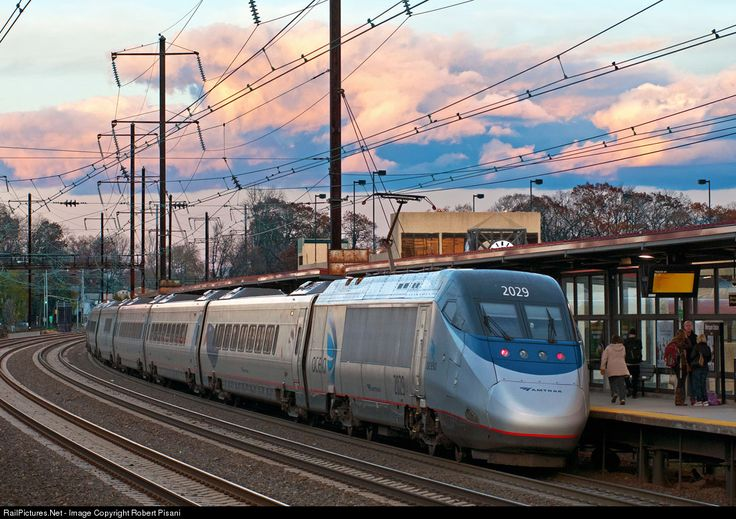 RailPictures.Net Photo: AMTK 2029 Amtrak Bombardier/Alstom Acela Express Trainset at Iselin, New Jersey by Robert Pisani