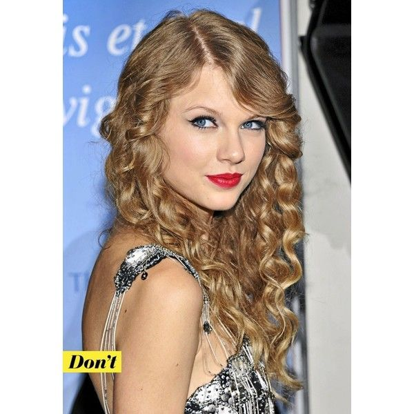 Photos Taylor Swift - Les cheveux bouclés de Taylor Swift : Don't ! ❤ liked on Polyvore featuring taylor swift, celebrities, hair and z-taylor swift