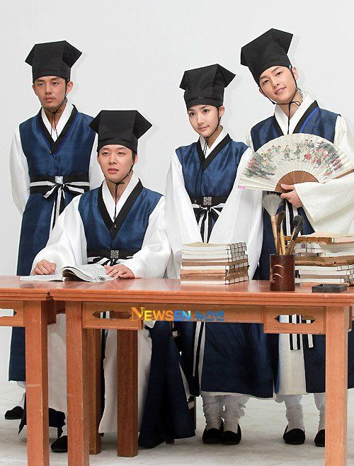 Sungkyunkwan Scandal Cast (Korean Drama - 2010) - 성균관 스캔들 ...