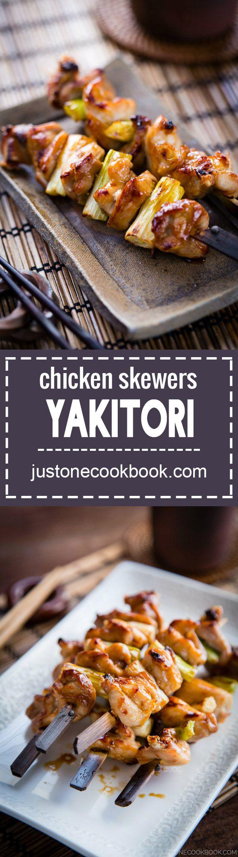 Yakitori (焼き鳥) | Easy Japanese Recipes at JustOneCookbook.com