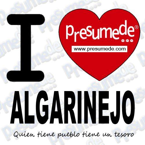Presumede... Algarinejo presumede pueblo!