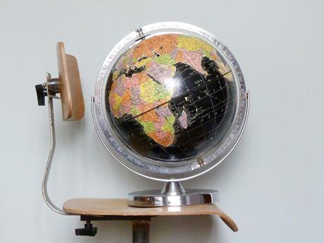 £195.00 - Black Vintage Globe