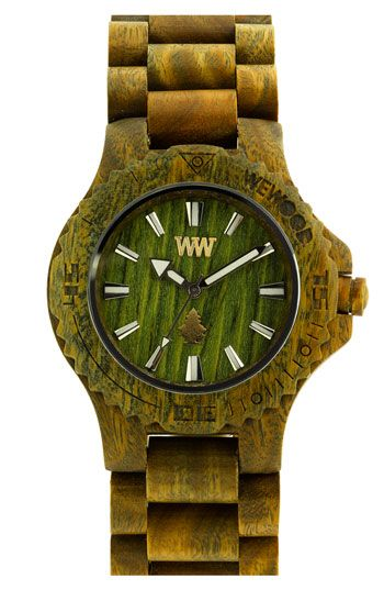 Wewood watch made from wood!