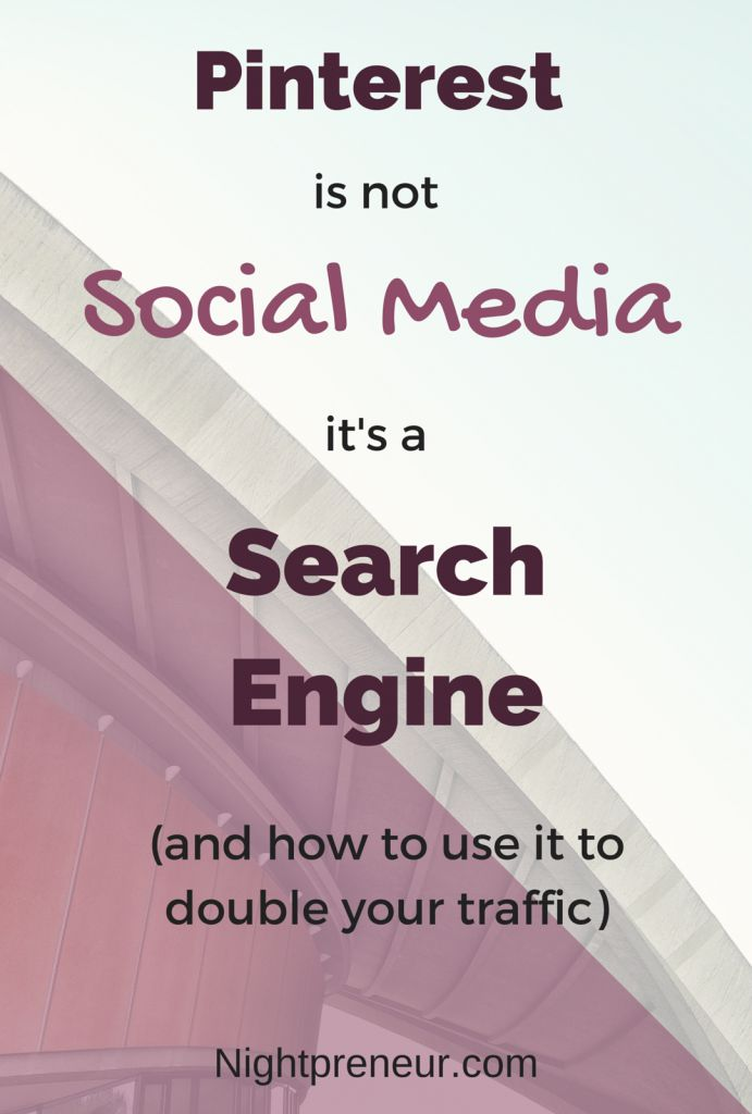 Pinterest is not social media its search engine. SEO, Search Engine Optimization, Google, Increase Website Traffic, Keywords, Grow Business, Increase Online Sales, Grow Traffic,