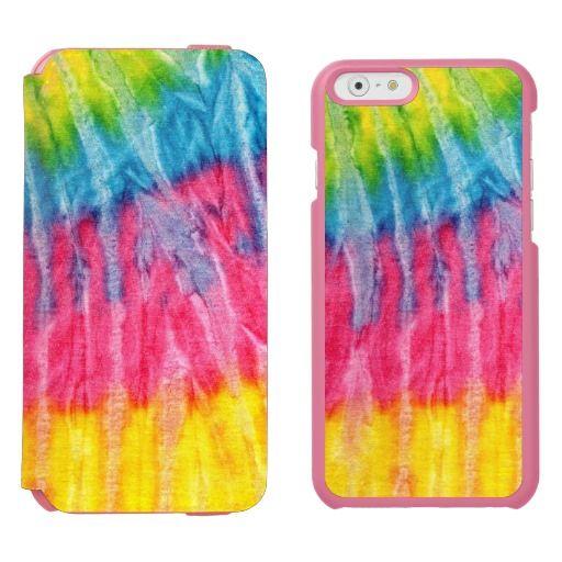 Hippie boho tie dye iphone 6 6s wallet case hippie boho for Order tie dye roses online