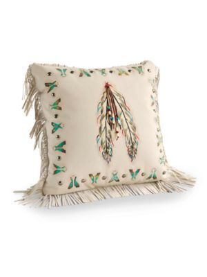Pendleton Woolen Mills: TEPEE AND FEATHER PILLOW
