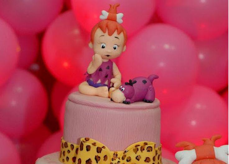 pebbles flintstone birthday party 20